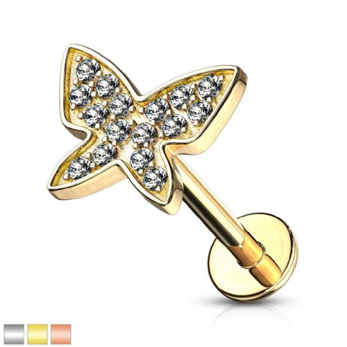 Butterfly Cartilage Bar Internally Thread